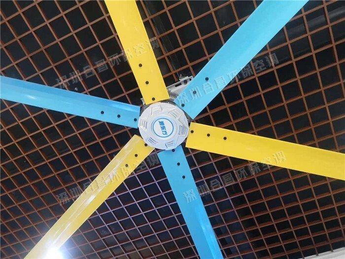润东方工业大风扇特点与应用场景