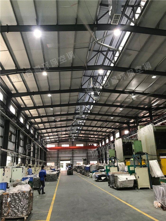 润东永磁直驱工业大吊扇为什么备受工厂喜爱?