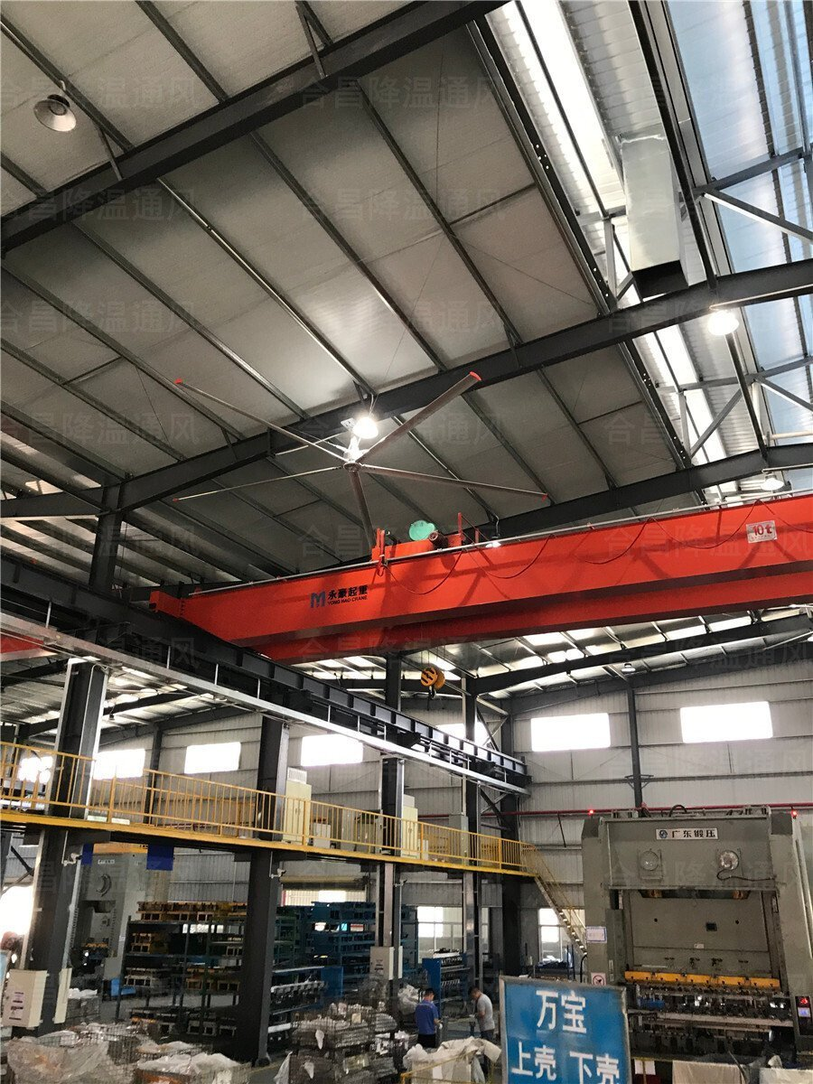 工业大风扇厂家-哪里有工厂大型风扇?哪种工业吊扇降温效果好?