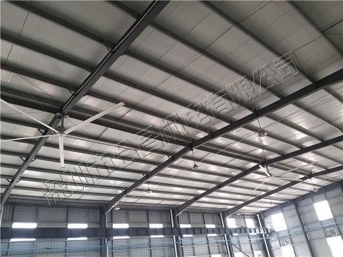 大型工业厂房降温通风就用大型节能吊扇