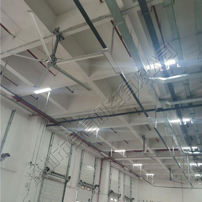 越来越多的企业都在安装工业大型吊扇降温,它的降温效果怎么样